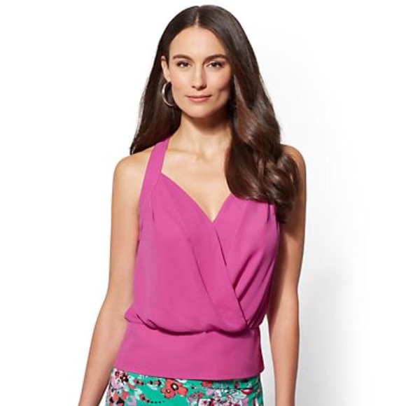 New York and Company 7th Avenue Halter Blouse 🌺